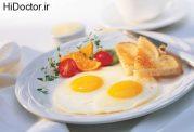 سکته قلبی و مغزی با مصرف نکردن صبحانه