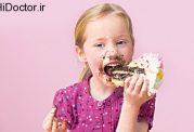افراط در مصرف شکر برای خردسالان
