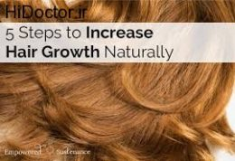 ترفندهایی برای افزایش حجم موها