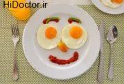 تقویت اشتهای کودک با تزیین صبحانه