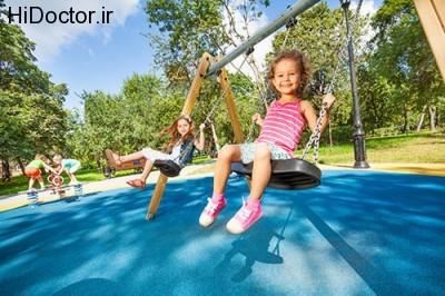 اصول مراقبت از خردسالان در پارک