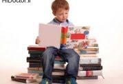 تمایل در کودک برای خواندن کتاب