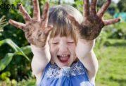 مقابله با آسم و آلرژی با بازی کردن با گل