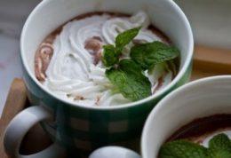 شکلات داغ با بوی نعناع