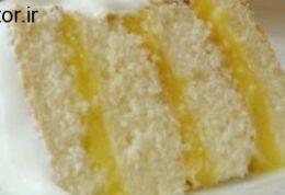 کیک با رایحه لیمو