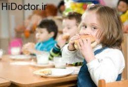 تغذیه مناسب برای سنین پایین