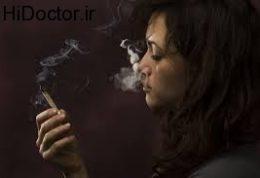 افسرده شدن به وسیله سیگار