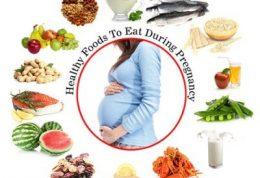 دانستنی های مهم درباره تغذیه دوران بارداری