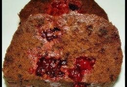 کیک کاکائویی زغال اخته
