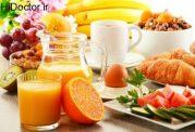 انتخاب های مفید برای صبحانه