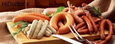 سرطان روده با این عوامل خوراکی