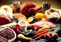 تاثیرعادات غذایی و نحوه دریافت مواد غذایی نوجوان