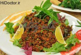 نوعی خوراک از بلغور ریز
