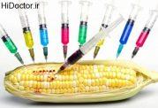 خوردنی های دستکاری شده ژنتیکی