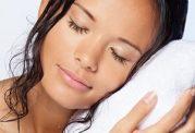 هرگز با موی خیس نخوابید