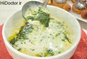 نوعی سوپ ترکیه به اسم kesme