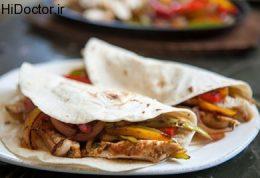 طبخ رول فاهیتا با گوشت سفید