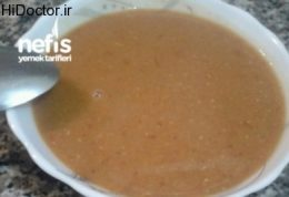 سوپ  عدس و نعناع داروی سرما خوردگی