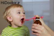 دارو خوردن اطفال