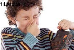 مقابله با بوی کفش