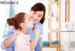 آموزش رعایت بهداشت دهان و دندان به اطفال