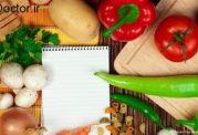 توصیه های تغذیه ای برای کاهش وزن