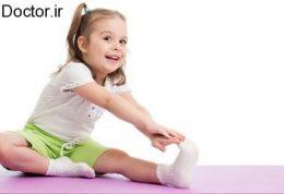خردسالان دختر و ورزش کردن