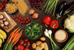 مصرف انواع سبزیجات به خاطر حافظه