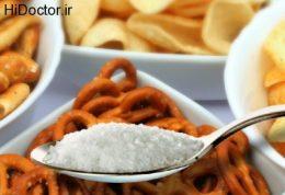 عوارض غذاهای نمکی