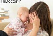 ژن افسردگی که از طریق مادر به کودک می رسد