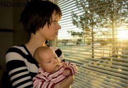افسردگی مربوط به زایمان و انتقال آن به کودک