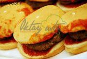 همبرگر مرطوب