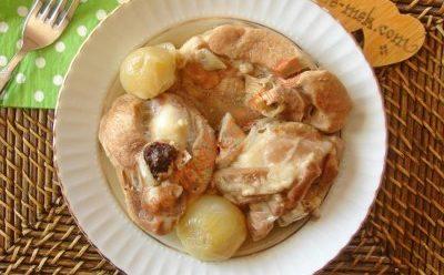آموزش خوراکی از گوشت استخوان دار در زود پز