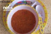 سوپ آرد مخصوص بچه ها