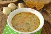 سوپ قارچ و ماست