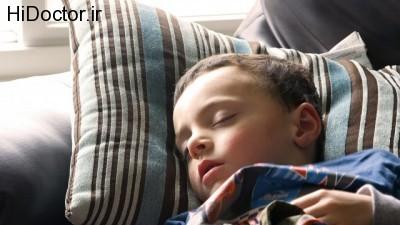 آپنه و خر و پف در هنگام خواب در سنین پایین