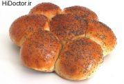 تهیه این نان خوشمزه در منزل