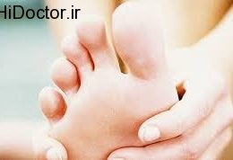 نوعی سندرم در کف پا