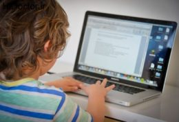 عادت کردن کودک به حضور در فضای مجازی