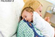 اهمیت آروغ زدن نوزاد