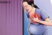 وقتی قفسه سینه زن باردار درد میگیرد