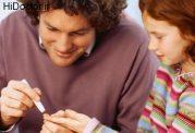دیابت در سنین پایین و کمک والدین