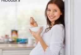 مصرف این نیم چاشت های مفید در حاملگی