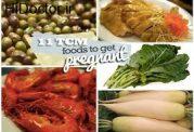 کمک به حاملگی با استفاده از برخی مواد غذایی