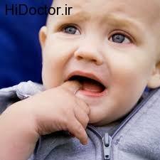 مشکل رویش دندان های شیری در خردسالان