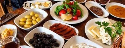 بهترین مواد غذایی در سفره صبحانه ایرانی ها