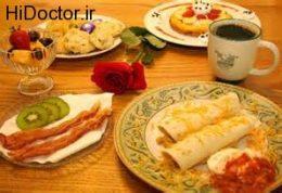 صبحانه ای برای افزایش وزن