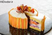 کیک های رژیمی زیبا و اشتها آور
