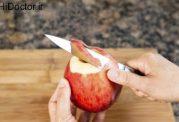پوست سیب و درمان مشکلات کبد