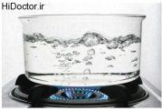 به دفعات زیاد آب را نجوشانید
